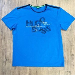 Hugo Boss Blue T-shirt. Large